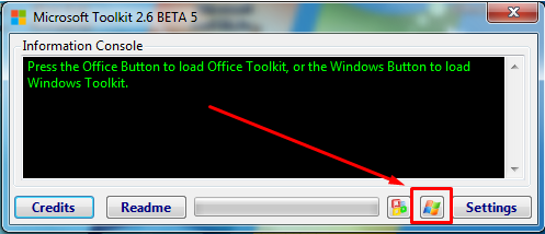 Activate Office 2010